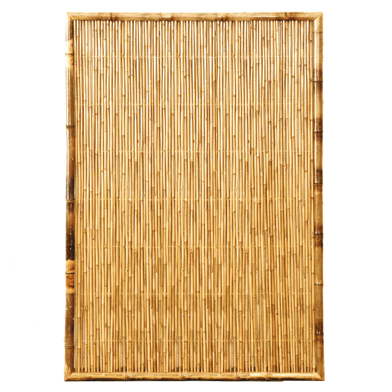 Sichtschutzwand Bambus Sichtschutzelement Zen Geschlossen
