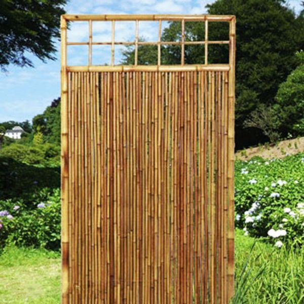 sichtschutzwand bambus sichtschutzelement zen zierleiste sichtschutz. Black Bedroom Furniture Sets. Home Design Ideas