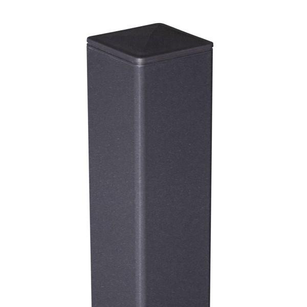 ALU-Pfosten 6x6 cm, anthrazit DB 703
