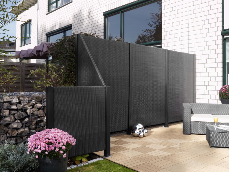 garten sichtschutz kunststoff. Black Bedroom Furniture Sets. Home Design Ideas