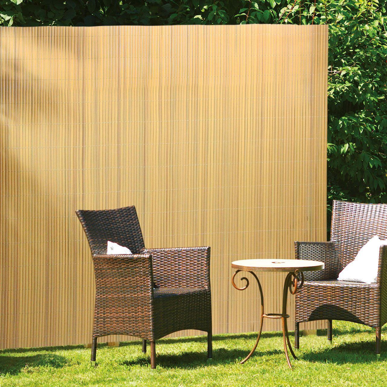 bambus sichtschutzzaun swalif. Black Bedroom Furniture Sets. Home Design Ideas