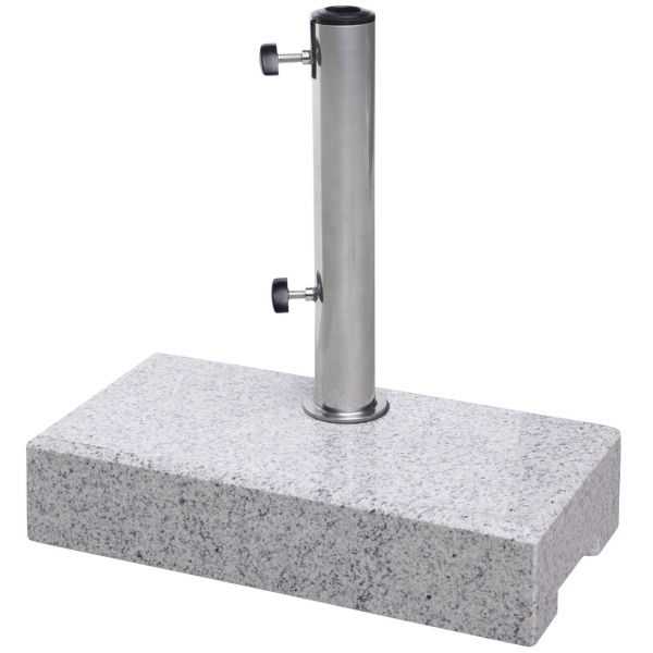 Balkon Sonnenschirmständer Granit, 25kg