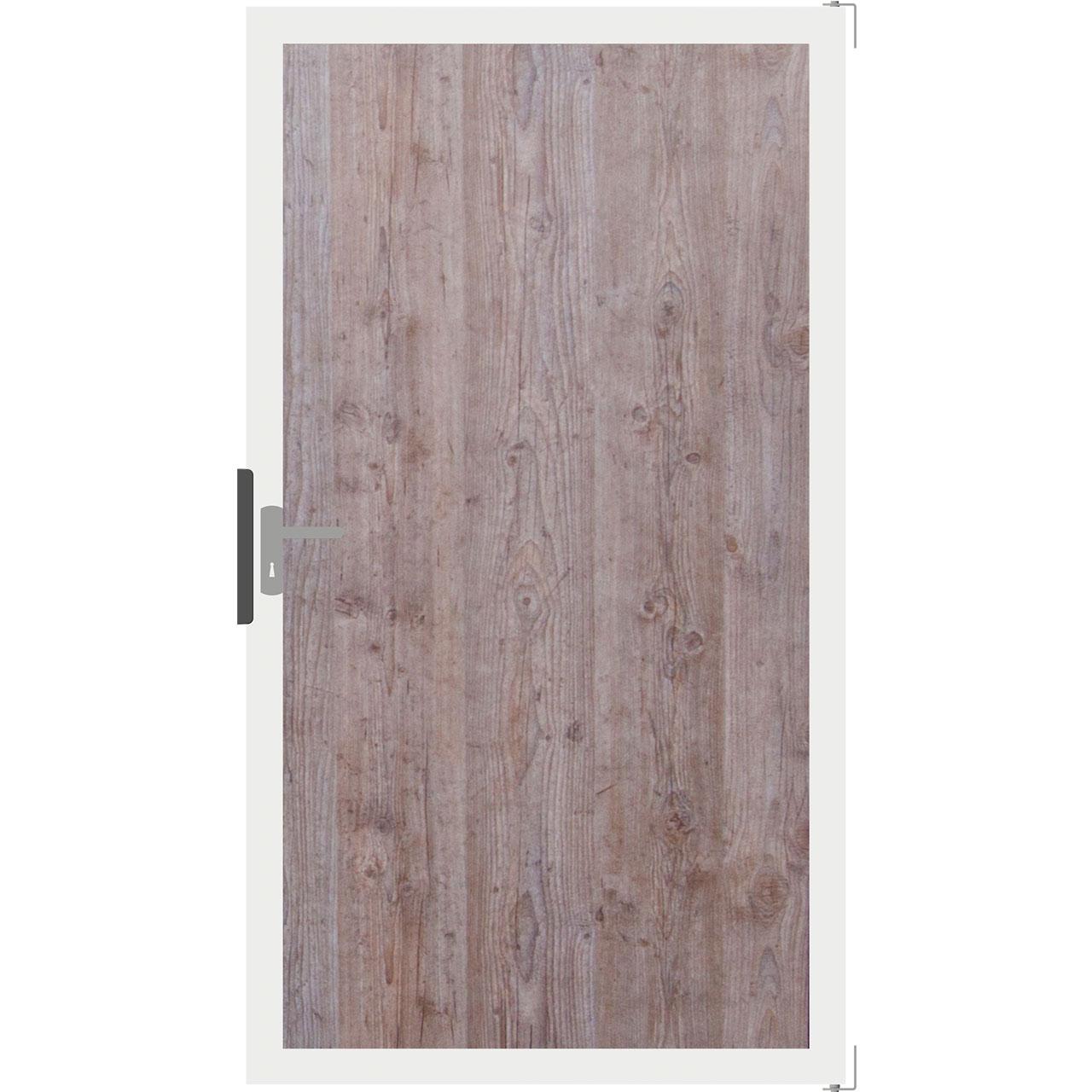 Hpl Tor Sichtschutzzaun Premium Holzoptik