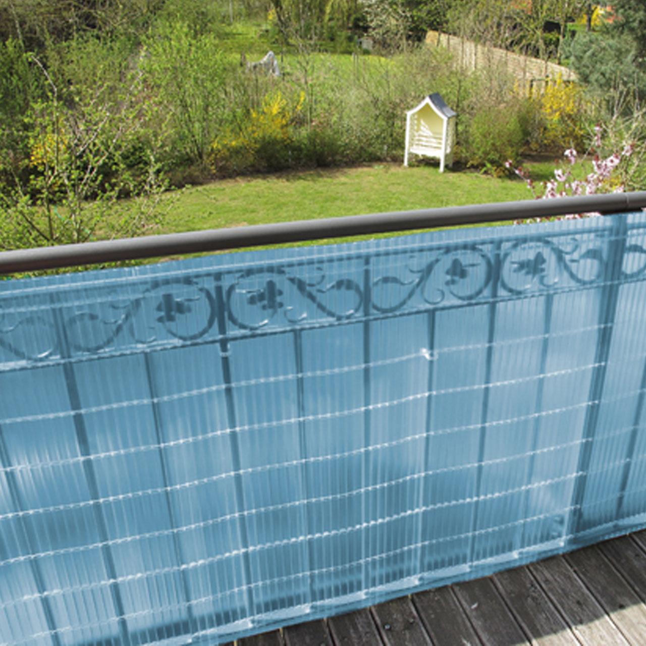 sichtschutzzaun pvc kunststoff sunline azur sichtschutz. Black Bedroom Furniture Sets. Home Design Ideas