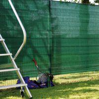Garten-Sichtschutz Zaunblende, grün Höhe x Breite:150 x 500 cm