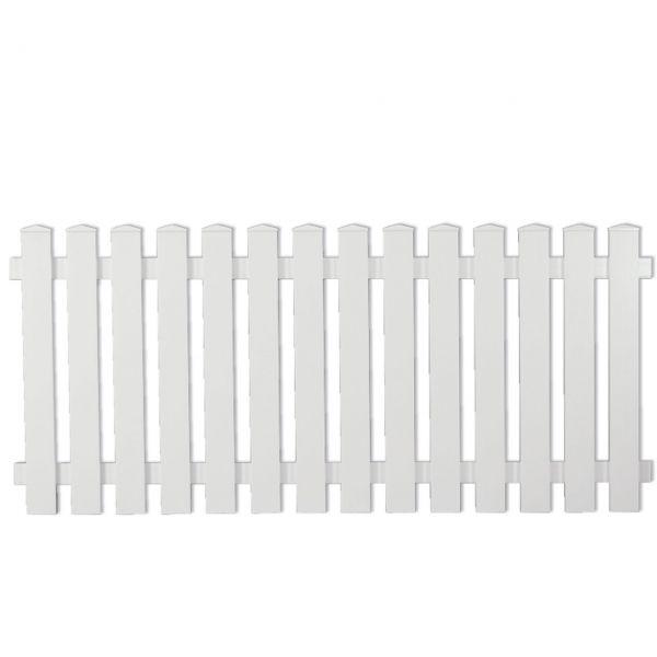 Kunststoffzaun Light-Line, 80 cm weiß