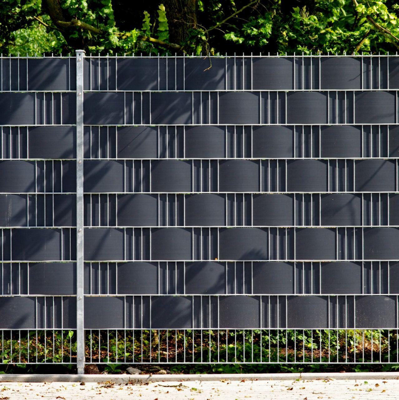 Neu Sichtschutz am Zaun - sofort blickdicht UE01