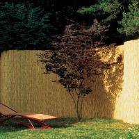 Sichtschutzzaun, Bambusmatte Tonkin natur