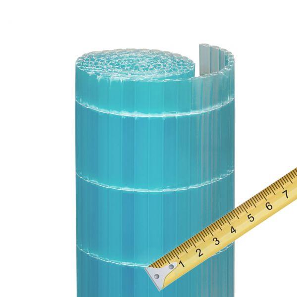 Sichtschutzzaun Kunststoff Meterware, Sunline azur