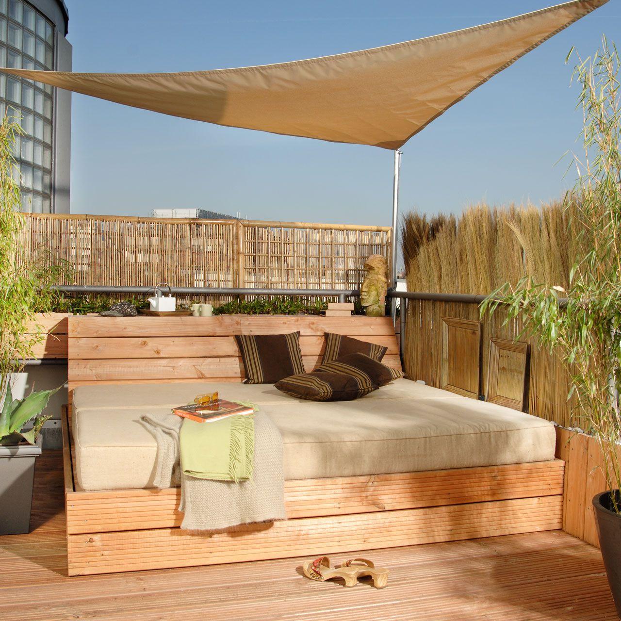 sichtschutz segeltuch free sonnensegel terrasse einfach. Black Bedroom Furniture Sets. Home Design Ideas