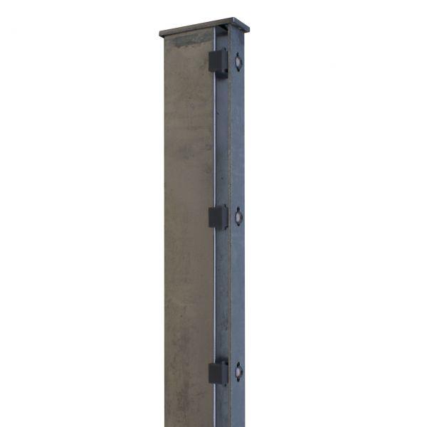 Zaunpfosten für Sichtschutzstreifen 180cm, verzinkt