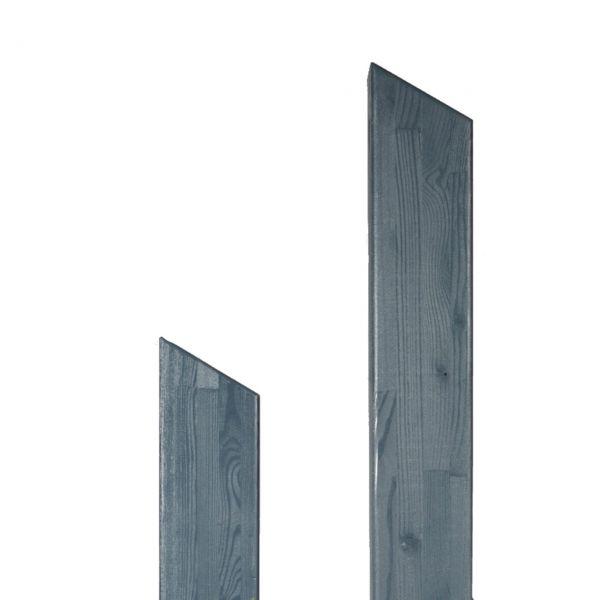 Pfosten Leimholz Lärche 9x9cm, Pult 30° schiefergrau