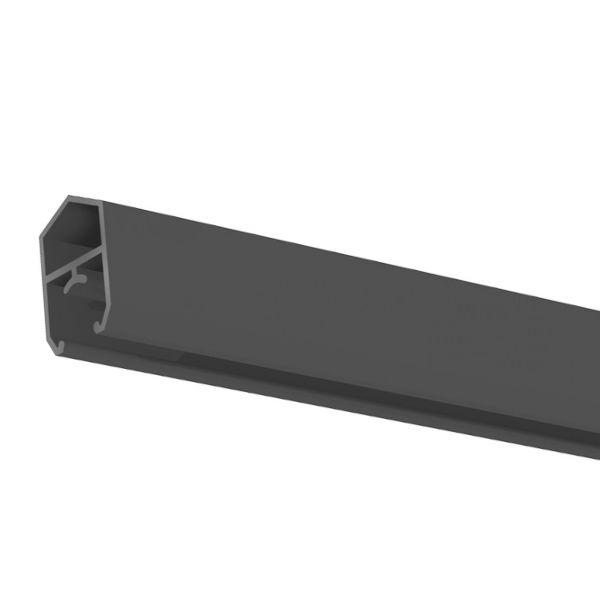 Abschlussprofil für Schrägelement BPC Steckzaun Solid