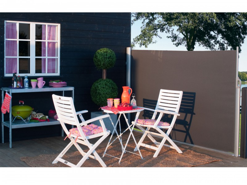 seitenmarkisen f r balkon terrasse. Black Bedroom Furniture Sets. Home Design Ideas