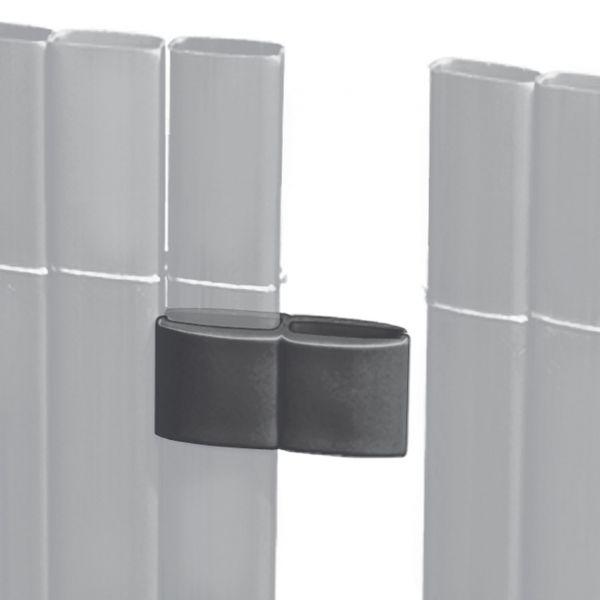 Mattenverbinder für Sichtschutzmatte Rügen, anthrazit