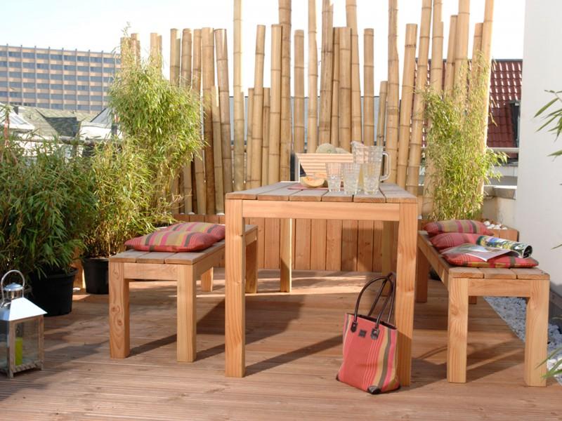 Bambusrohre Bambusstangen