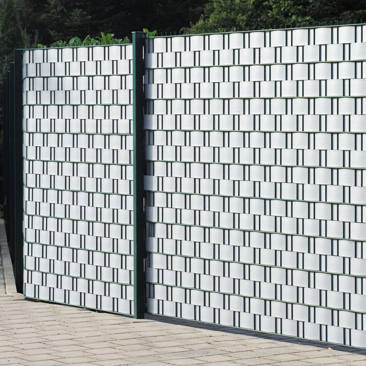 sichtschutzstreifen hart pvc woodline aluminium sichtschutz. Black Bedroom Furniture Sets. Home Design Ideas
