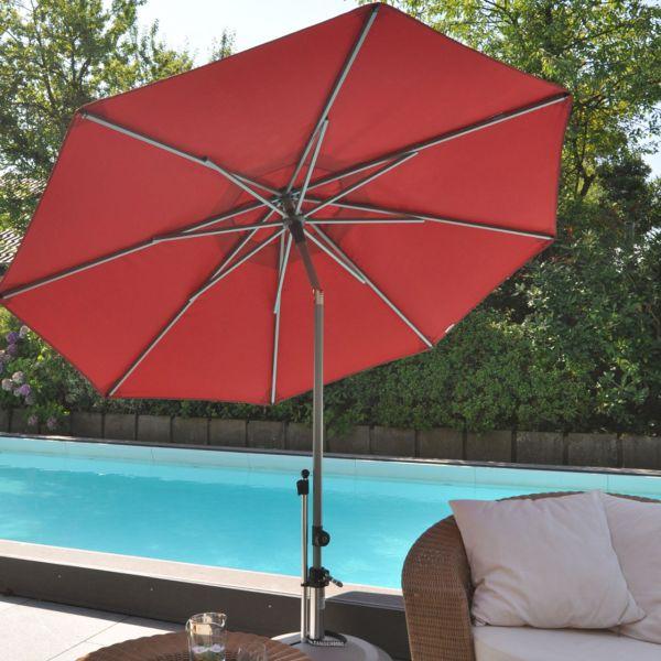 Sonnenschirm SolVida push, rund, Ø 210cm