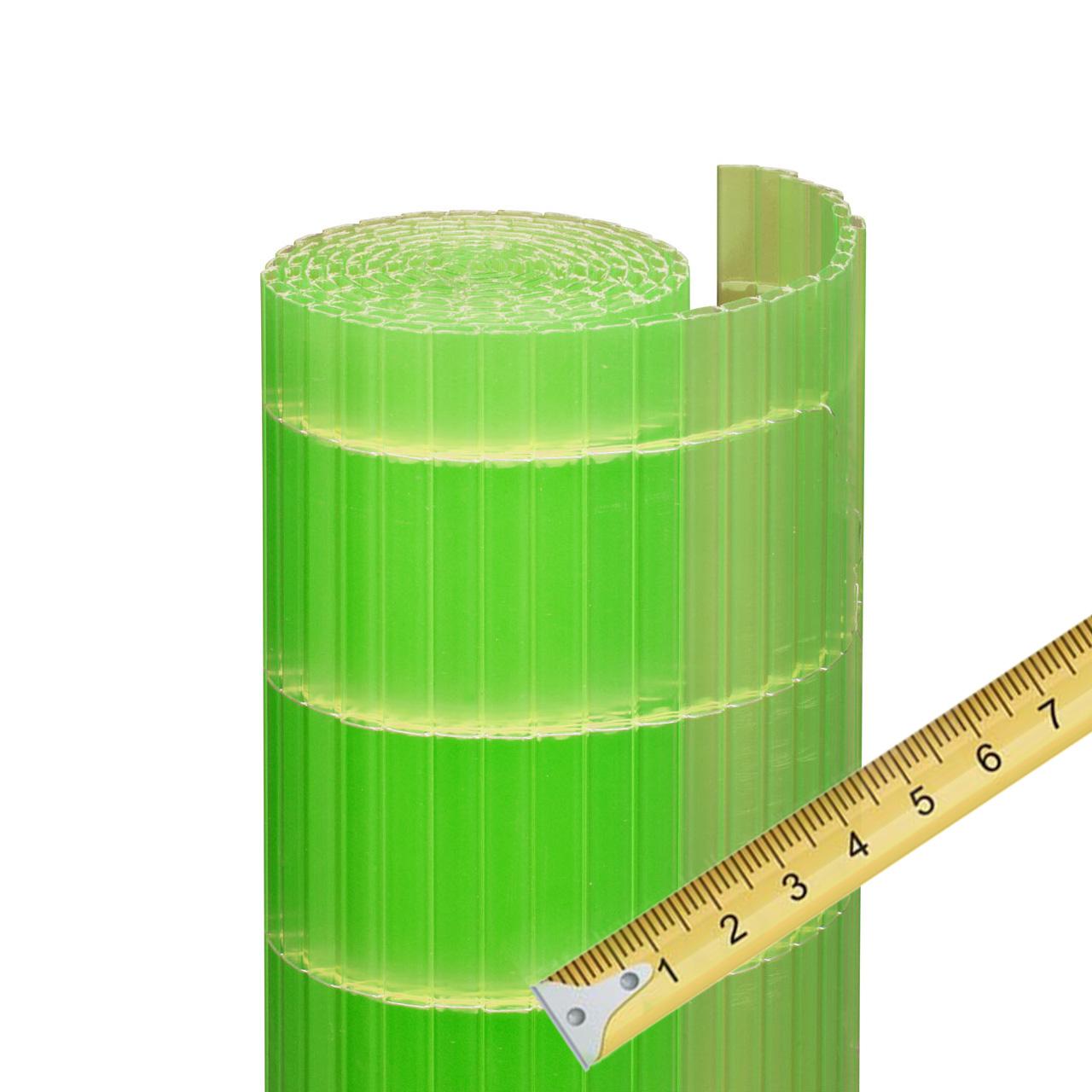 sichtschutzmatte pvc kunststoff meterware sunline limonengr n sichtschutz. Black Bedroom Furniture Sets. Home Design Ideas