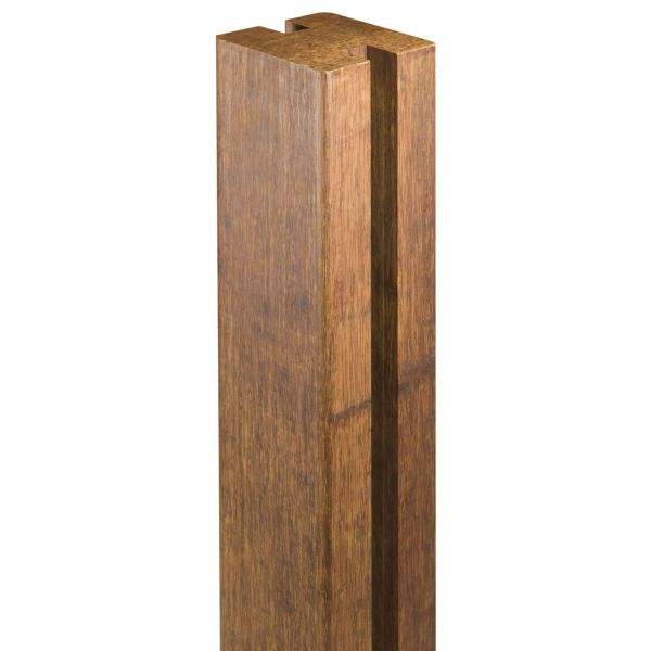 Bambusholz Pfosten 7x7 Steckzaun YANG