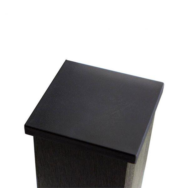 kappe 9x9 f r wpc pfosten anthrazit. Black Bedroom Furniture Sets. Home Design Ideas