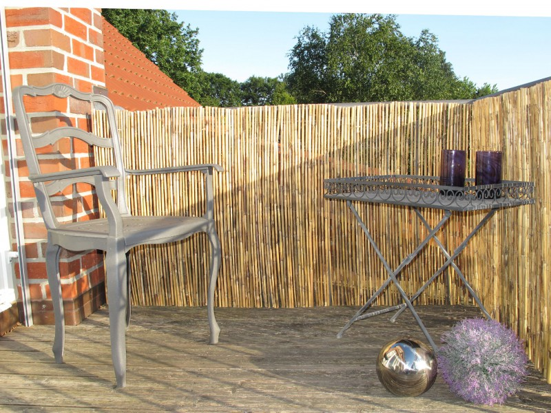 balkon sichtschutzmatten aus weide bambus schilfrohr co. Black Bedroom Furniture Sets. Home Design Ideas