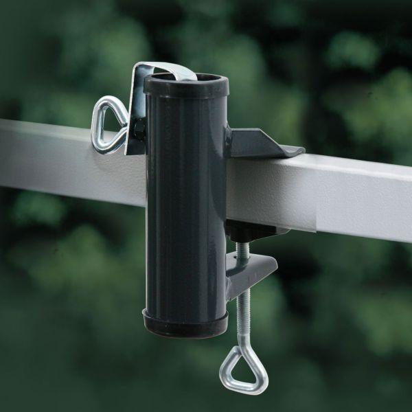 Sonnenschirmhalter Videx® für Balkon-Handlauf, anthrazit