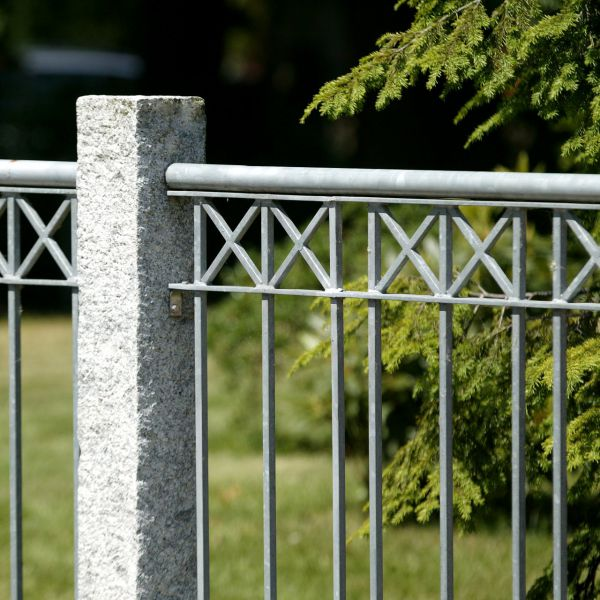 Zaunelement - Metallzaun Parkallee H: 90cm