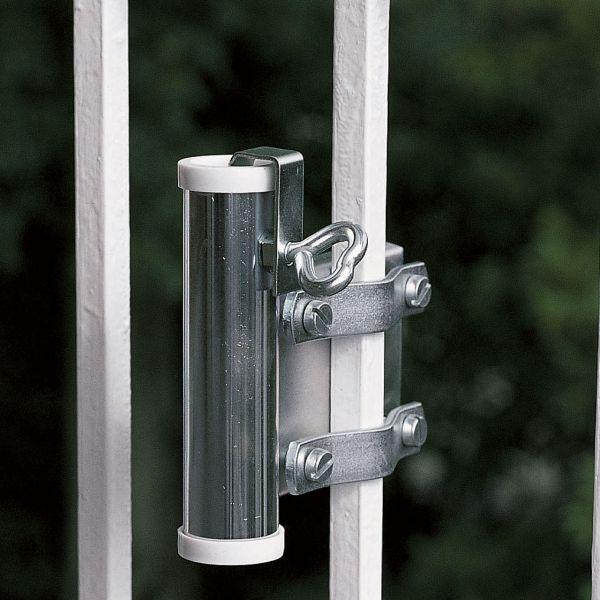 Sonnenschirmhalter Videx® für Balkongitter, verzinkt