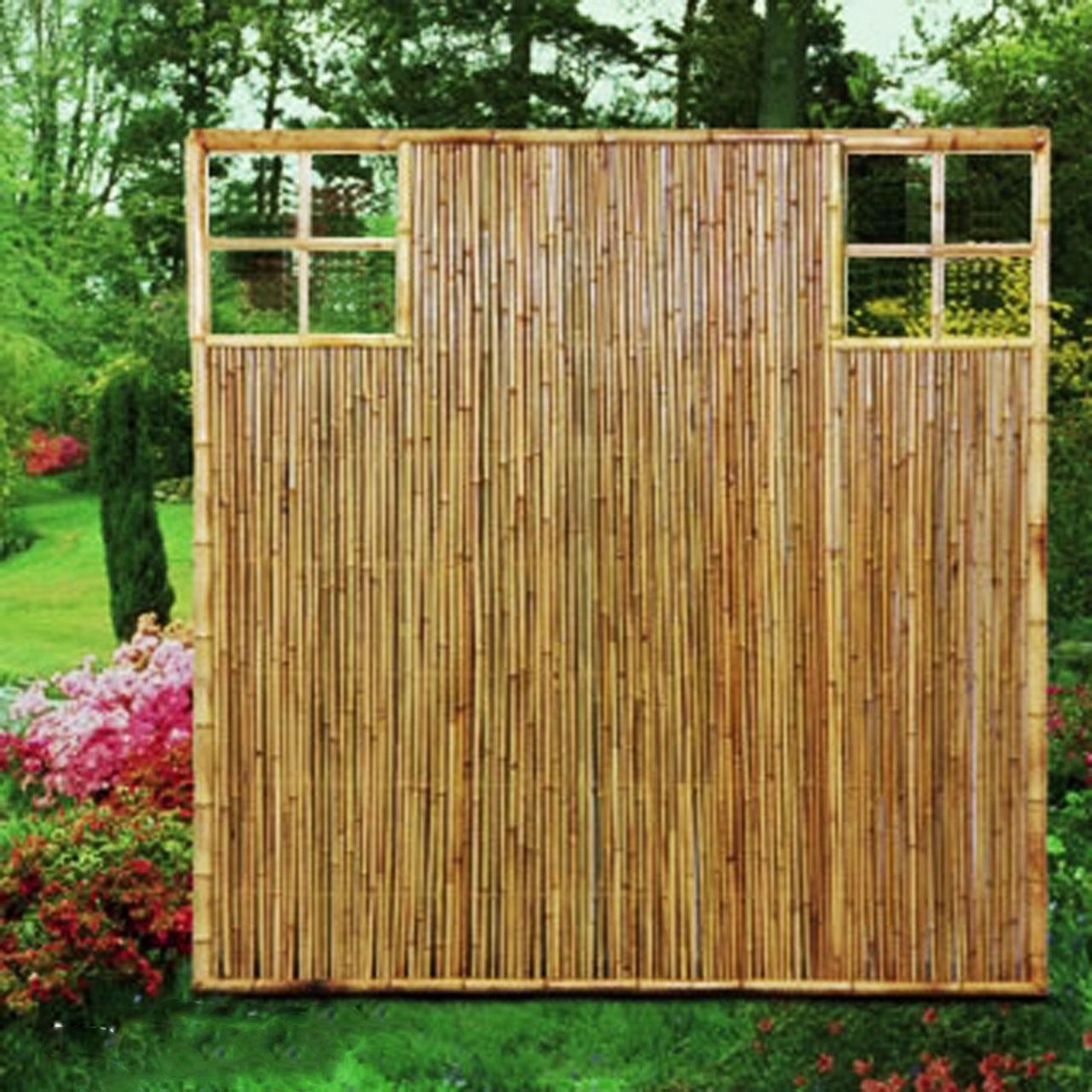 sichtschutzwand bambus sichtschutzelement zen ziergitter sichtschutz. Black Bedroom Furniture Sets. Home Design Ideas