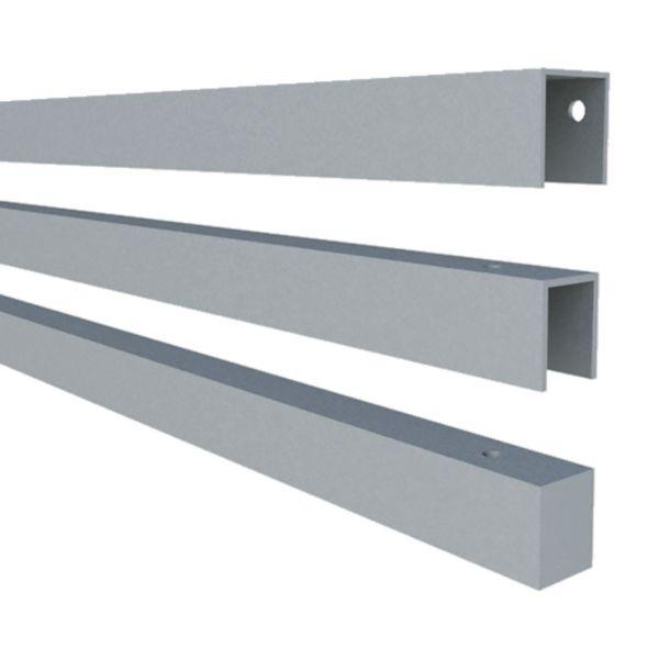 Stahlrahmen für Artura-WPC Sichtschutz