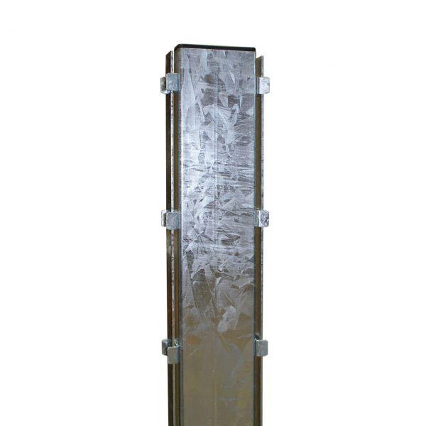 Pfosten für Steinmauer-Gabionen 120 cm, feuerverzinkt