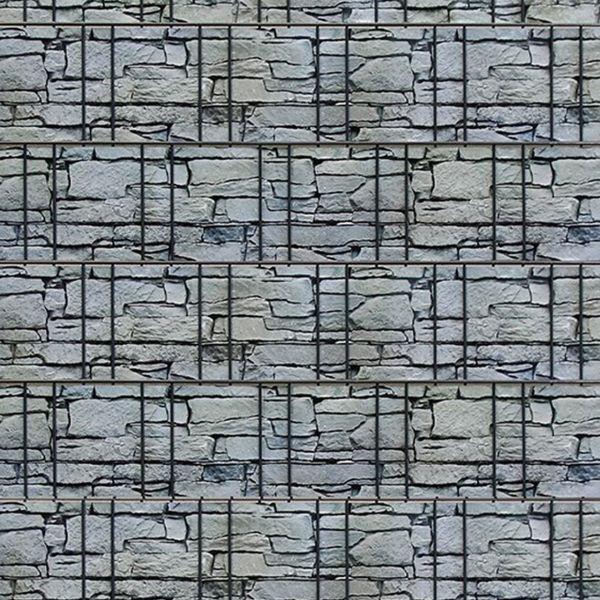 Sichtschutzstreifen, PVC Flex, Modern Stone