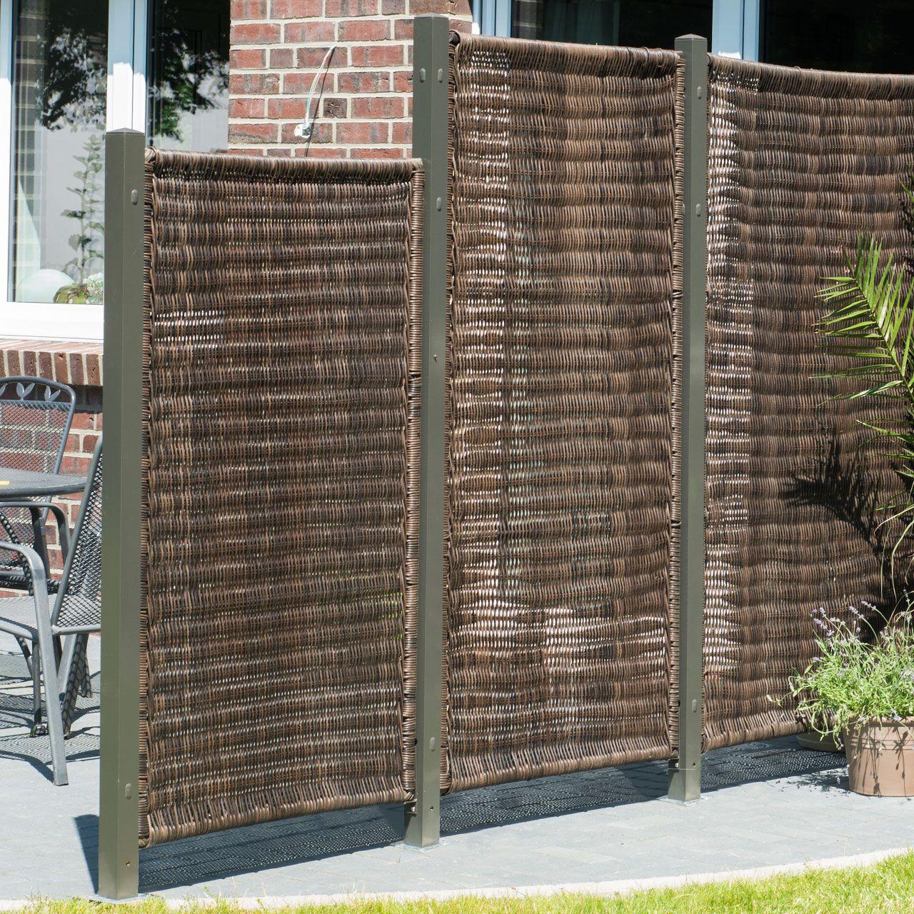 luxus balkon sichtschutz rattan einzigartige ideen zum sichtschutz. Black Bedroom Furniture Sets. Home Design Ideas