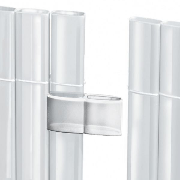 Mattenverbinder für Sichtschutzmatte Rügen-Sunline, transparent