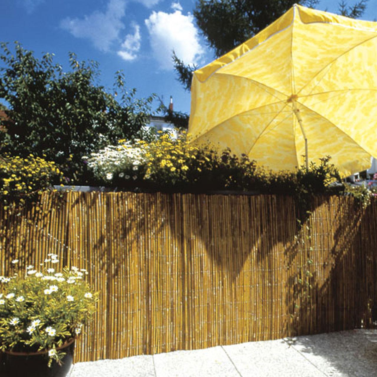 bambusmatte sichtschutzmatte tonkin natur sichtschutz. Black Bedroom Furniture Sets. Home Design Ideas