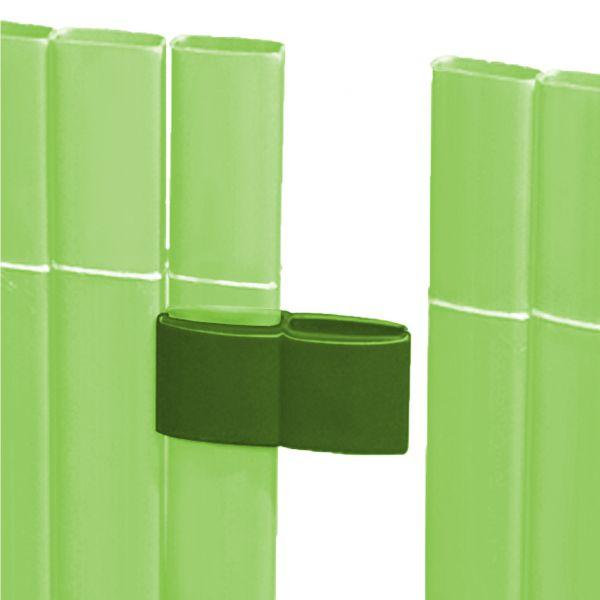 Mattenverbinder für Sichtschutzmatte Rügen, limonengrün