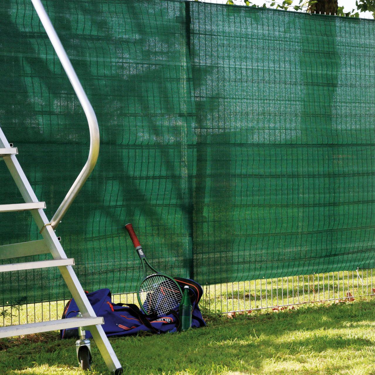 Garten Sichtschutz Zaunblende Meterware Grun Sichtschutz Welt De