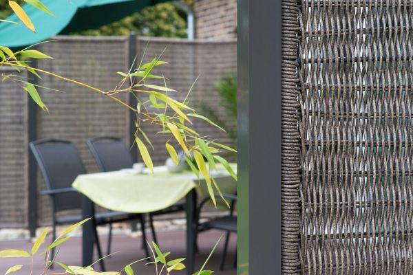 Sichtschutz Für Terrasse Sitzplatz Sichtschutz Weltde