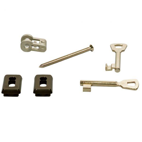 Bundbart-Schlosseinsatz inkl. 2 Schlüsseln