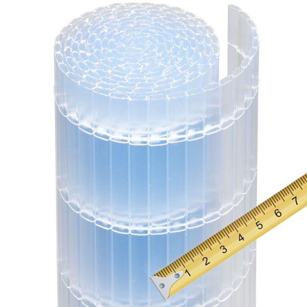 Sichtschutzzaun Kunststoff Meterware, Sunline transparent