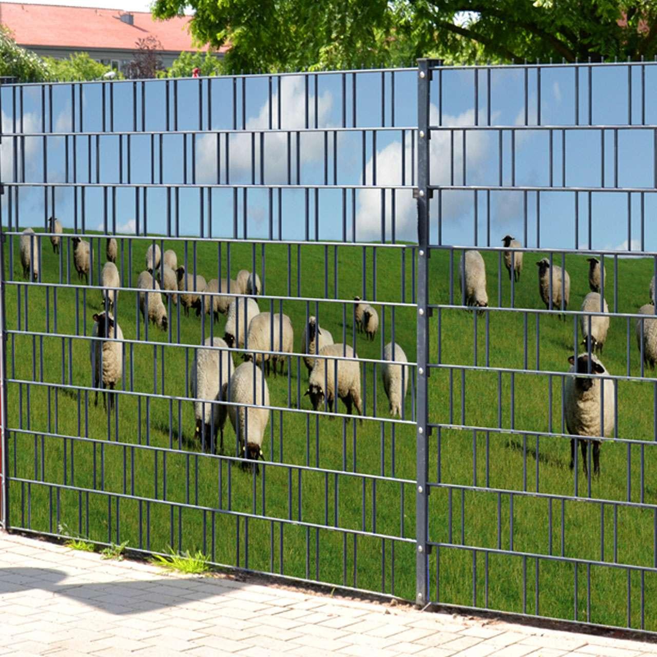 Garten Sichtschutz Plane Ehausdesign