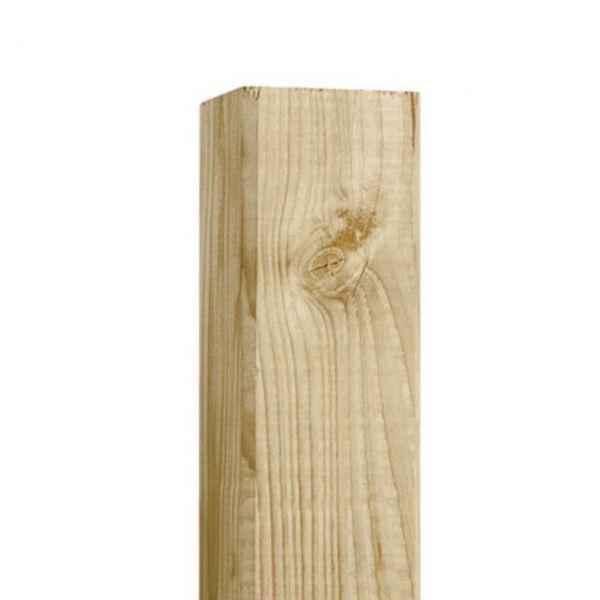 Pfosten 9x9cm, Lärche sägerauh natur
