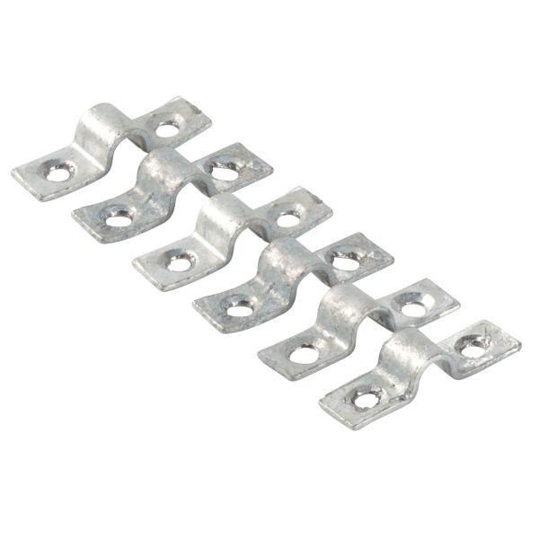 Bügelbeschläge für Stahlspalier