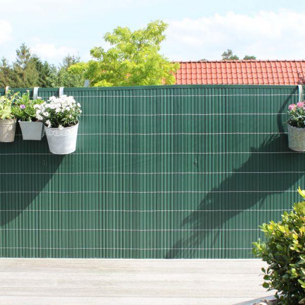 Sichtschutzmatte Kunststoff, Rügen grün