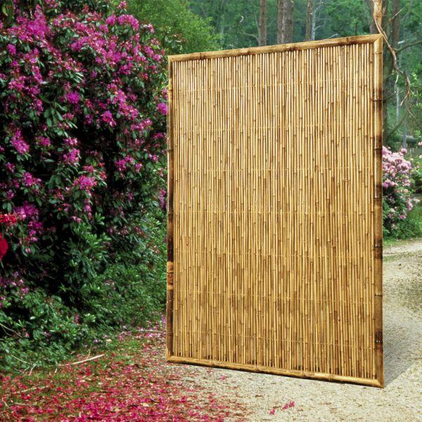 Sichtschutzwand Bambus, ZEN geschlossen