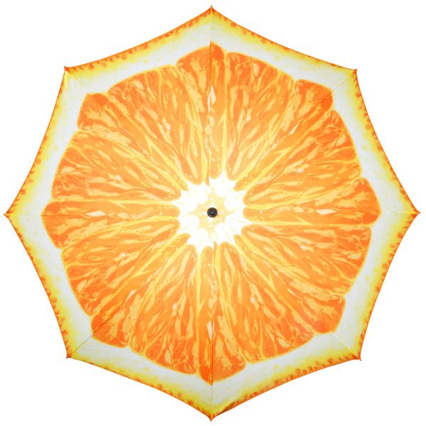 Sonnenschirm Orange, Ø 200cm