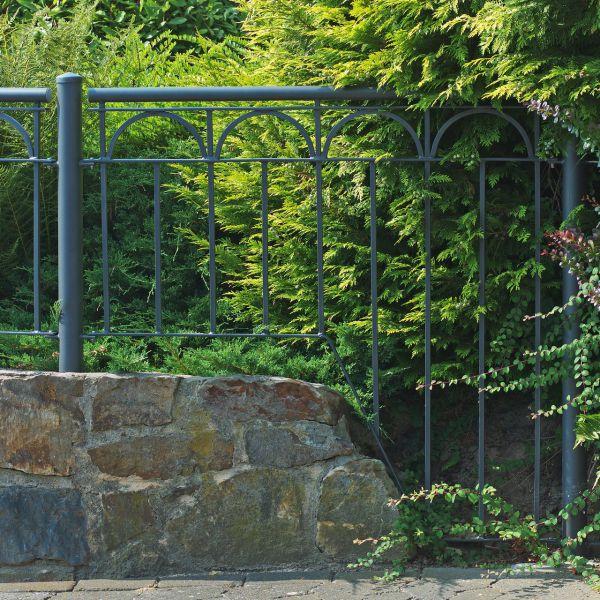 Zaunelement Sonderlänge - Metallzaun Goethestraße H: 90cm
