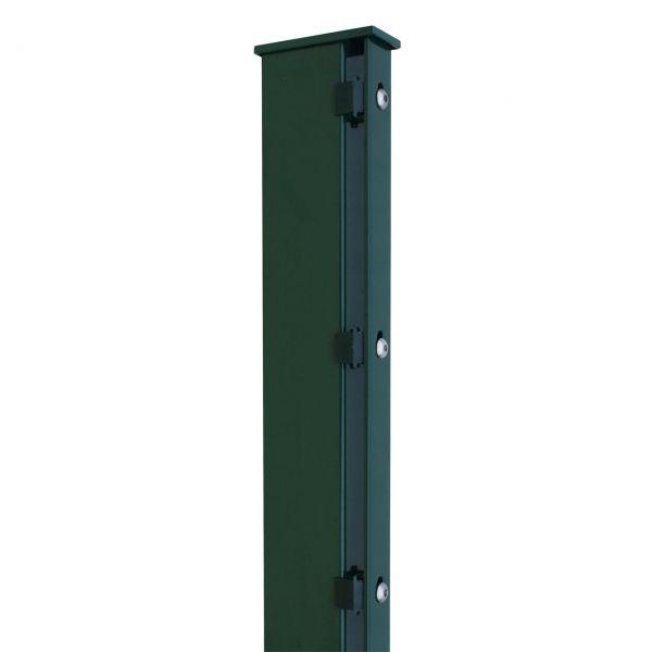 Zaunpfosten für Sichtschutzstreifen 180cm, grün