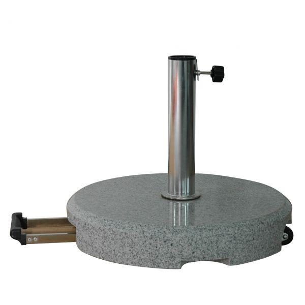 Granitständer 40kg rund,rollbar